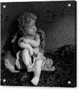Most Sweet Resting Child Acrylic Print
