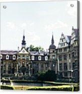 Moszna Panorama Acrylic Print