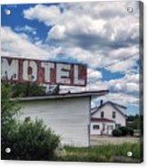 Motel Acrylic Print