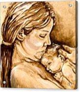 Mother And Child IIi Acrylic Print
