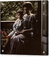 Mother And Child. Johannes Hendrikus Antonius Maria Lutz, 1907 - 1916 Acrylic Print