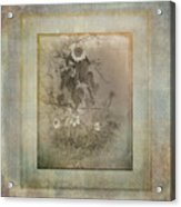 Mother And Child Reunion Vintage Frame Acrylic Print