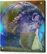 Mother Earth Series Plate3 Acrylic Print