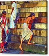 Mother Ganges - Paint Acrylic Print