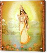 Mother Goddess Lalitha Acrylic Print