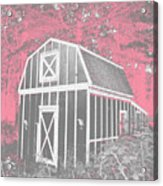 Mother Goose's Barn Acrylic Print