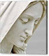 Mother Mary Comes To Me... Acrylic Print by Greg Fortier