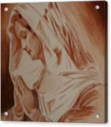 Mother Mary Acrylic Print