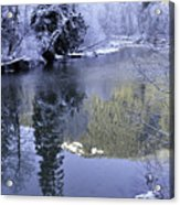 Mother Natures Chilling Touch Acrylic Print