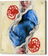 Mother Of Dragons Acrylic Print