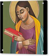 Mother Of God After Fra Angelico 168 Acrylic Print