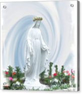 Mother Of Peace Acrylic Print
