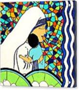 Mother Teressa Acrylic Print