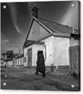 Mother Theresa Of Calcutta Parish In Dzalal-abad, Kyrgyzstan Acrylic Print