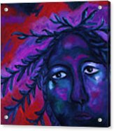 Mother Watching All Acrylic Print