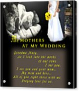 Mothers Blessings Acrylic Print