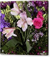 Mothers Day Bouquet Acrylic Print