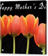 Mothers Day Card 2 Acrylic Print