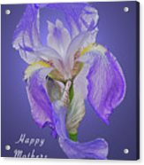 Mothers Day Card 7 Acrylic Print