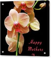 Mothers Day Card 8 Acrylic Print