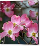 Mother's Day Card Acrylic Print