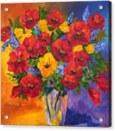 Mothers Spring Flowers Acrylic Print
