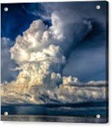 Mothership Thunderstorm  Acrylic Print