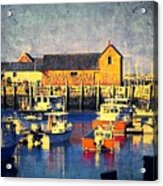 Motif No. 1 - Sunset Digital Art Oil Print Acrylic Print