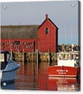 Motif No. 1 Reflections Rockport Massachusetts Acrylic Print