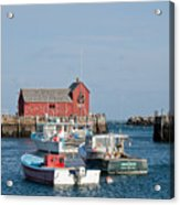 Motif Number 1 Rockport Ma Acrylic Print