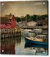 Motif Number One Acrylic Print by Robin-Lee Vieira