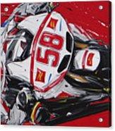 Moto Gp Simoncelli Honda 58 Acrylic Print