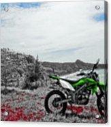 Motocross Acrylic Print