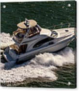 Motor Boat 2 Acrylic Print