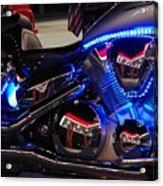 Motorcycle Mirror Acrylic Print