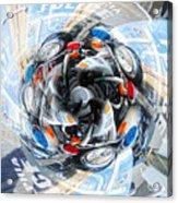 Motorcycle Mixup Acrylic Print