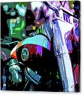 Motorcycle Poster IIi Acrylic Print