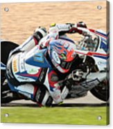 Motorcycle Racing Acrylic Print