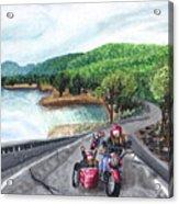 Motorcycle Ride Acrylic Print