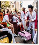 Motorized Recliners And Elvis - Nola Acrylic Print
