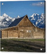 Moulton Barn Acrylic Print