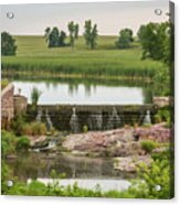 Mound Lake Dam 1 Acrylic Print