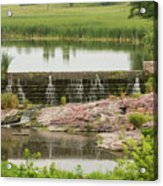 Mound Lake Dam 2 Acrylic Print