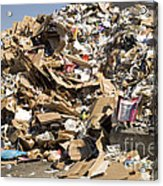 Mound Of Recyclables Acrylic Print