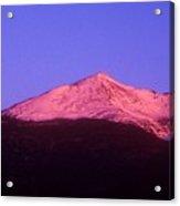 Mount Adams At Sunrise Acrylic Print
