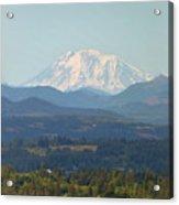 Mount Adams In Washington State Acrylic Print