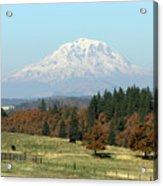Mount Adams Pasture Land Acrylic Print