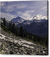 Mount Baker From The Lake Ann Trail 2 Acrylic Print