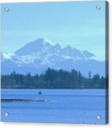 Mount Baker From The Spit Acrylic Print
