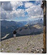 Mount Black Rock Acrylic Print